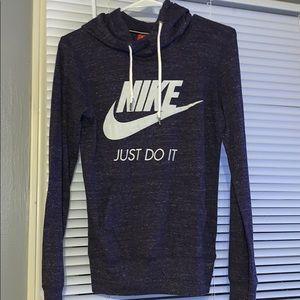 Dark Purple XS Nike Hoodie